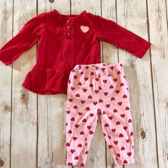 Carter S Matching Sets Baby Girl Valentines Day Hearts Matching